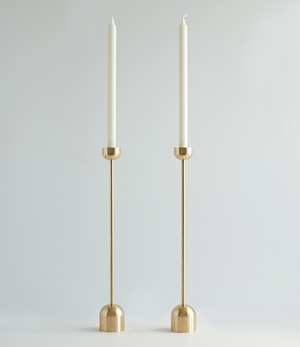 "12.5"" Tall Spindle Candle Holder"