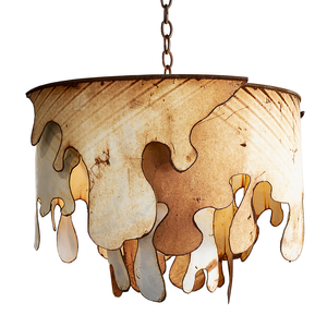 Distressed Metal Chandelier