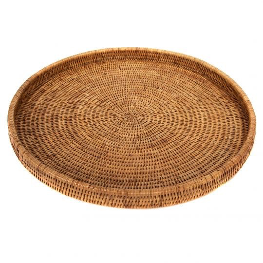 Woven Round Tray