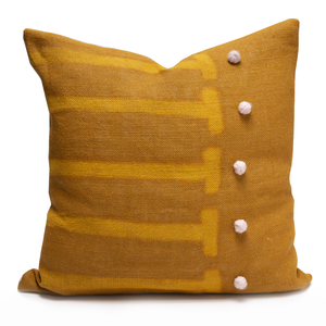 Scale Ochre Pillow