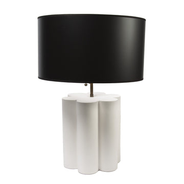 Oversized Scalloped Lamp