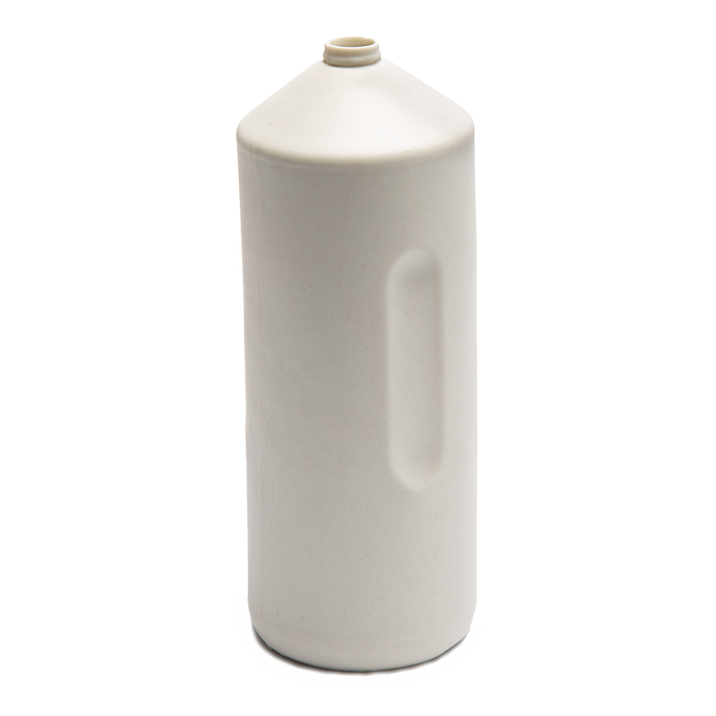 Bisque White Silo Bottle