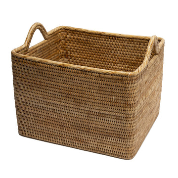 Basket with Hoop Handles