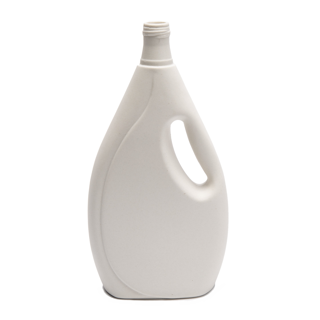 Bisque White Laundry Detergent Bottle