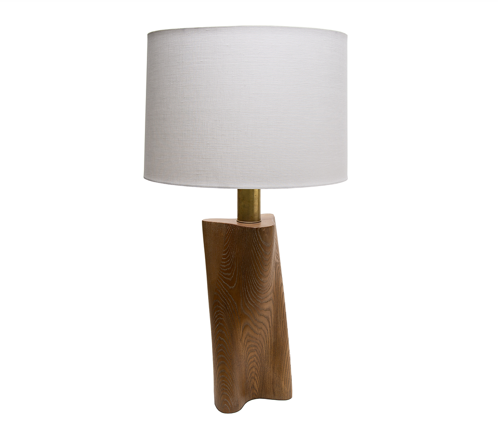 Yasha Heifetz Cerused Oak Lamp