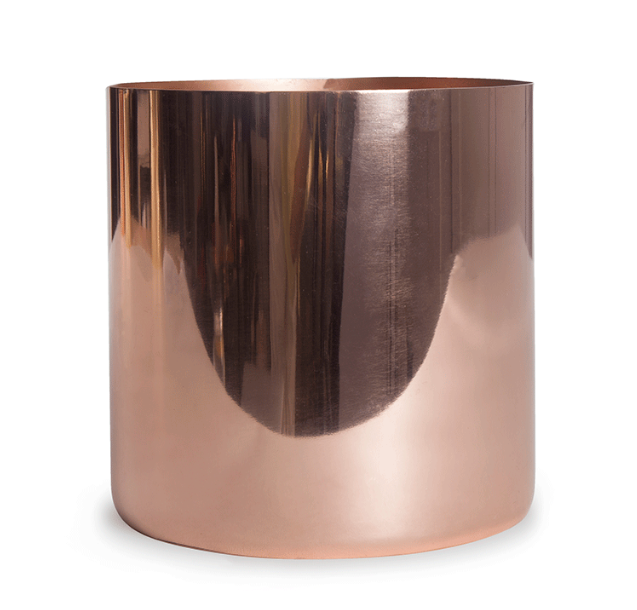 Large Louise Copper Cache Pot