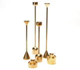 Solid Brass Stackable Candle Holder