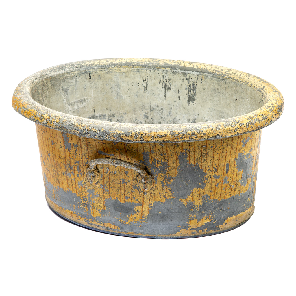 French Zinc Wine Tub