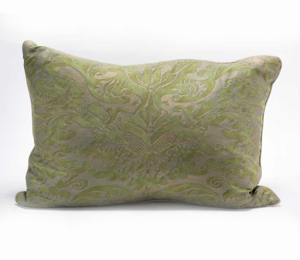 Vintage Fortuny Fabric Pillow