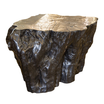Black Log Table