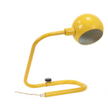 Vintage Yellow Eyeball Desk Lamp