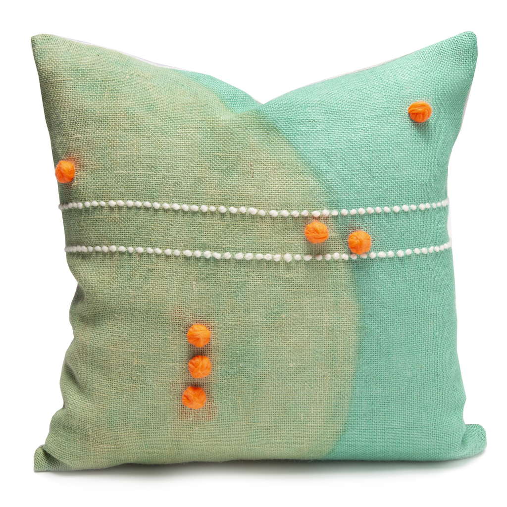 Convex Mint Pillow