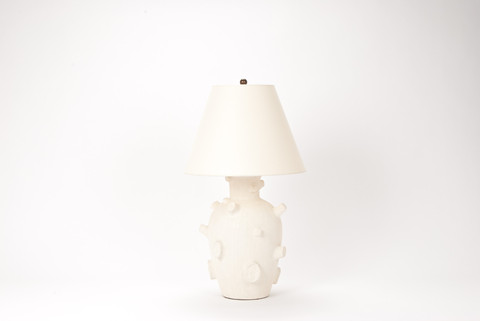 Single Faux Bois Lamp