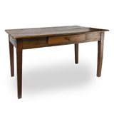 Spanish 19th Century Primitive Wood Table