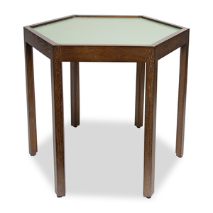 Bunching Table with Olive Top