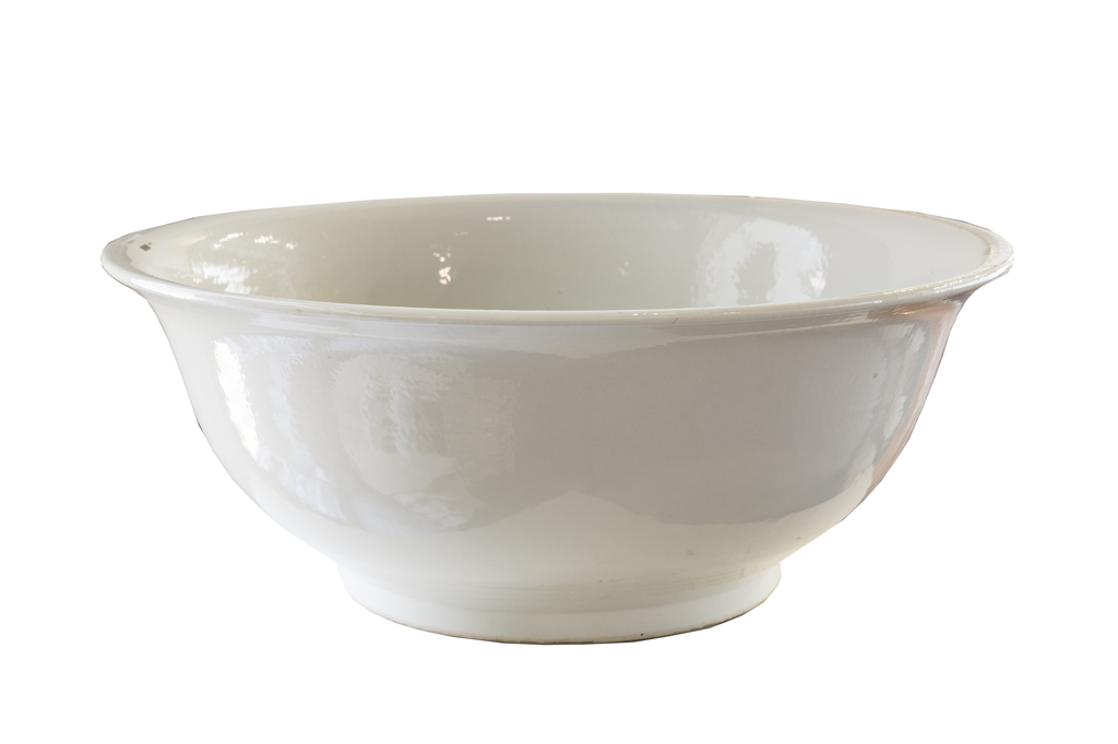 White Punch Bowl