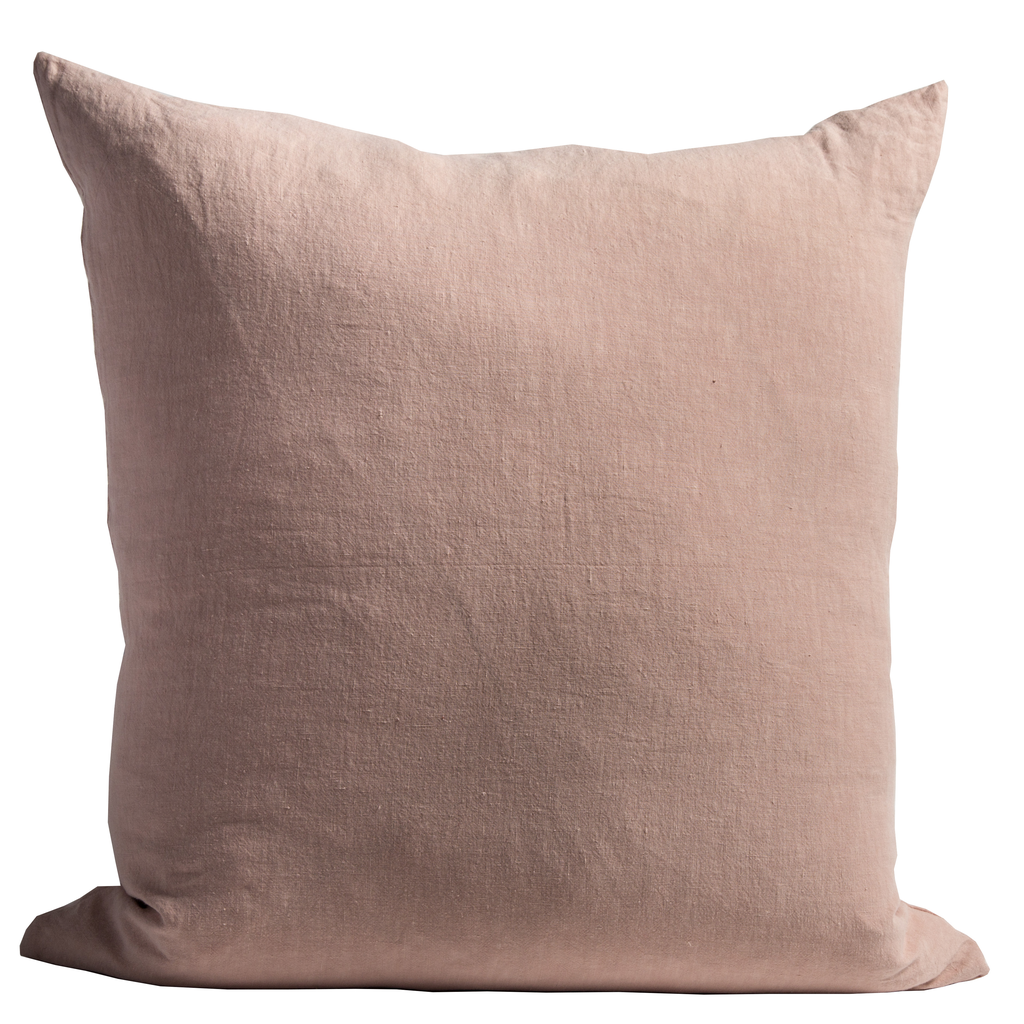 Stone Washed Belgian Linen Pillow