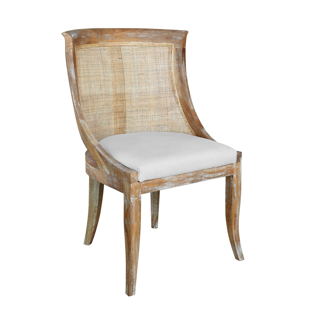 Limed Oak Dining Chair