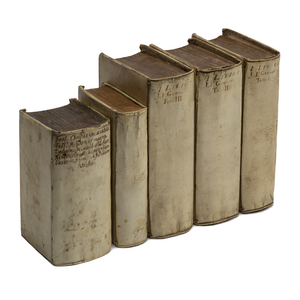 Set of 17th C. Latin Books