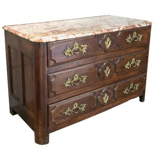 18th Century 3 Drawer French Chest