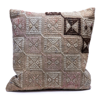 Pillow Made from Vintage Textile
