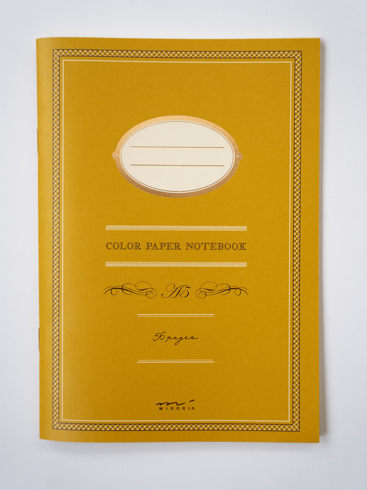 Colour paper notebook (A5) // Yellow