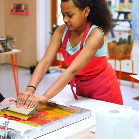 Half Term Screen Printing Workshop