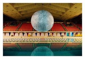 Coventry Baths - Museum of the moon print.