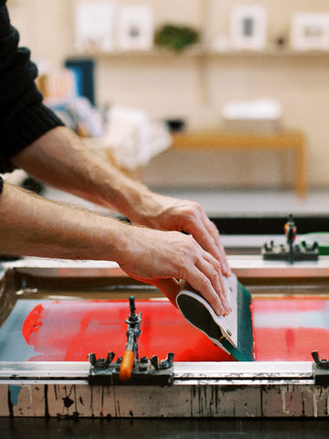6 week screen printing course