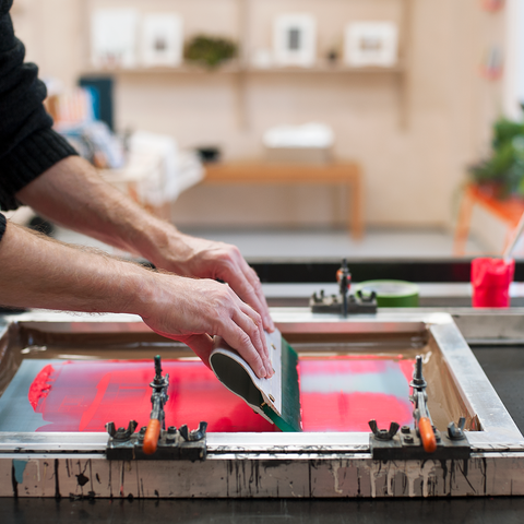 Introduction to fabric screen printing