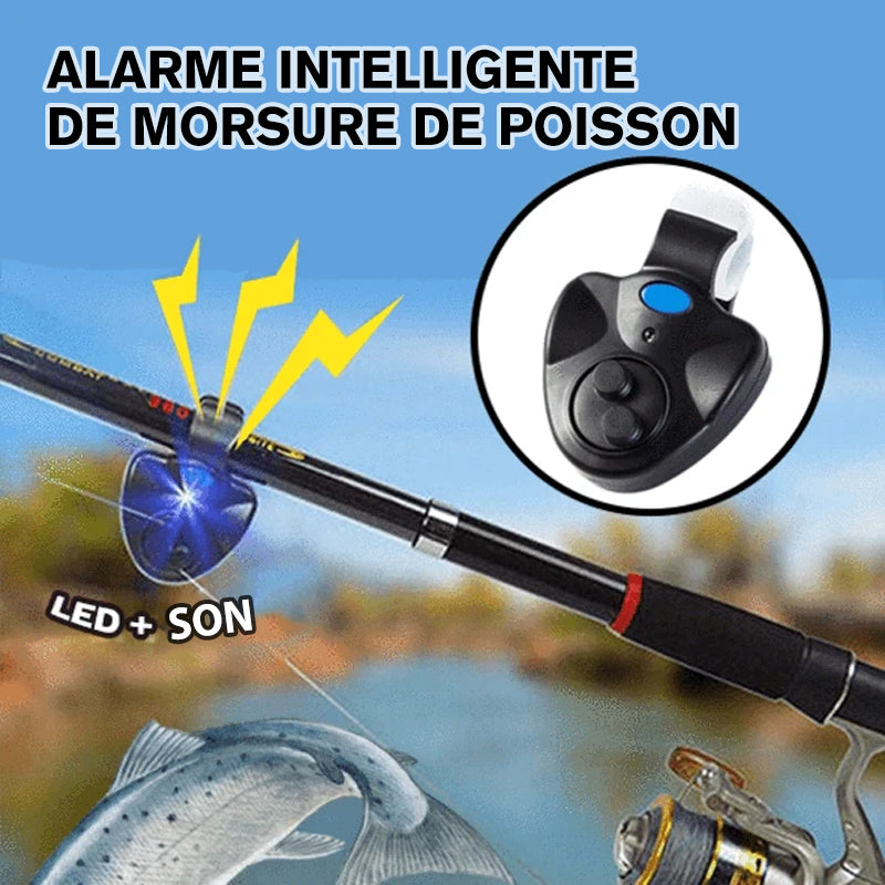 Alarme Intelligente de Morsure de Poisson
