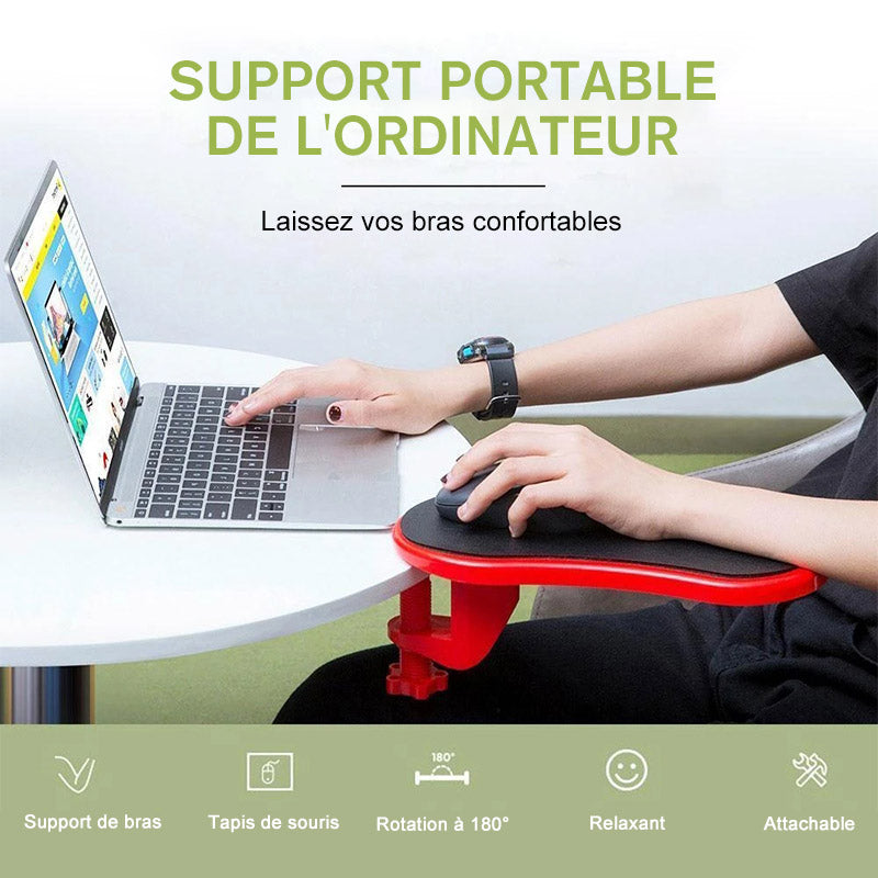 Accoudoir Attachable pour Bureau d'ordinateur - ciaovie