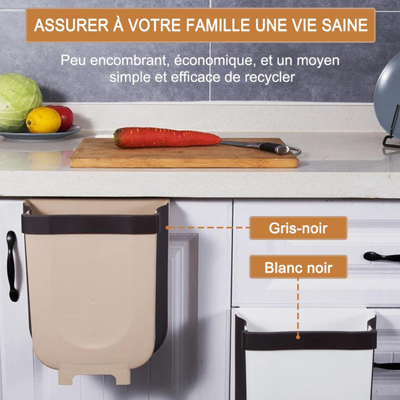 Ciaovie™ Kitchen Poubelle Pliable Wall Mounted - ciaovie