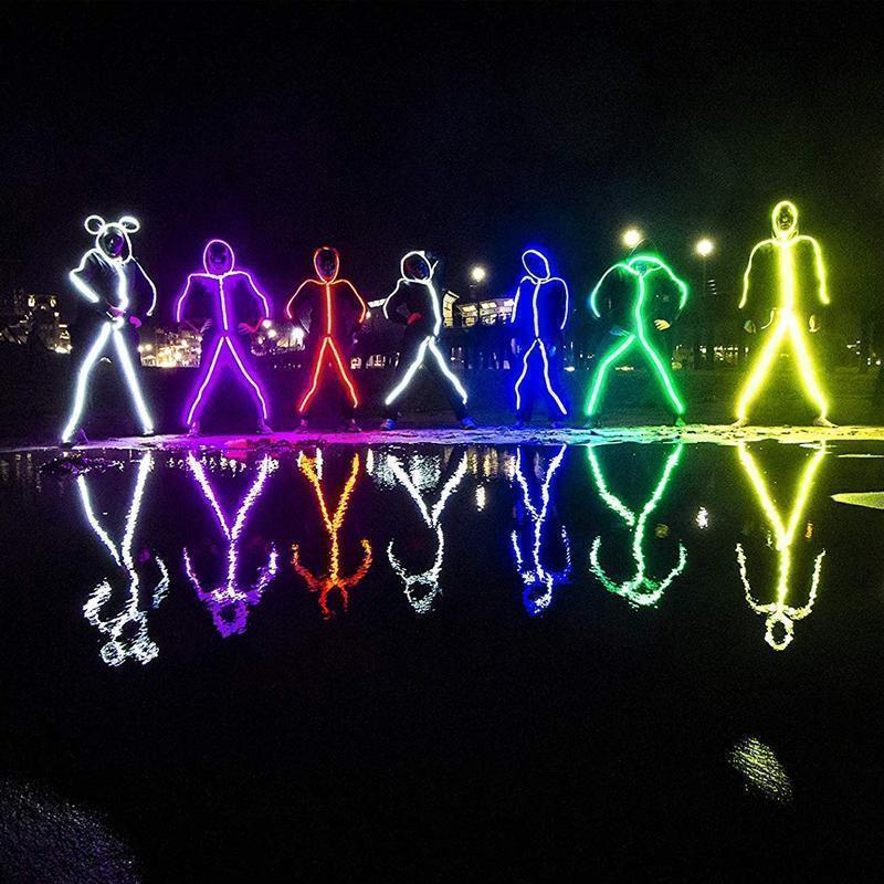 Kit de Stickman à LED Fil de Lumières