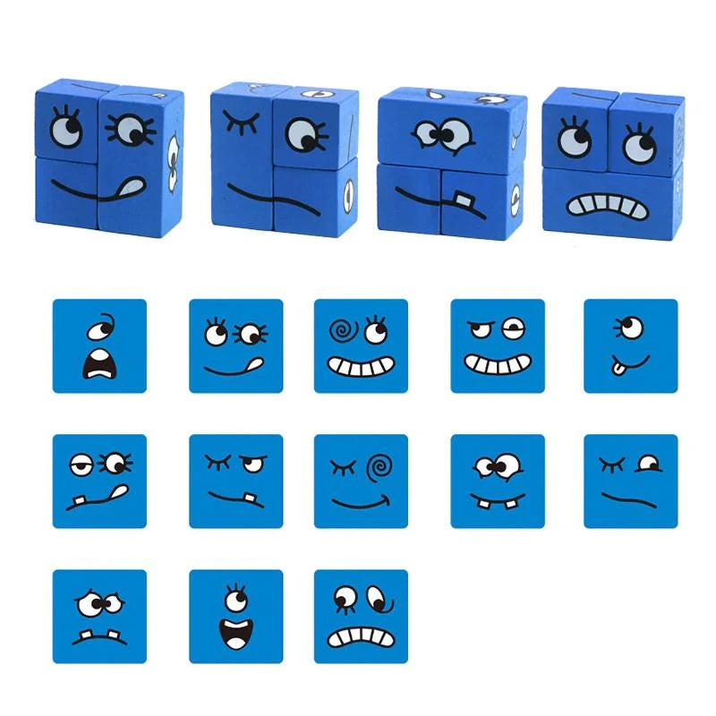 Cubes de Construction à Emoji