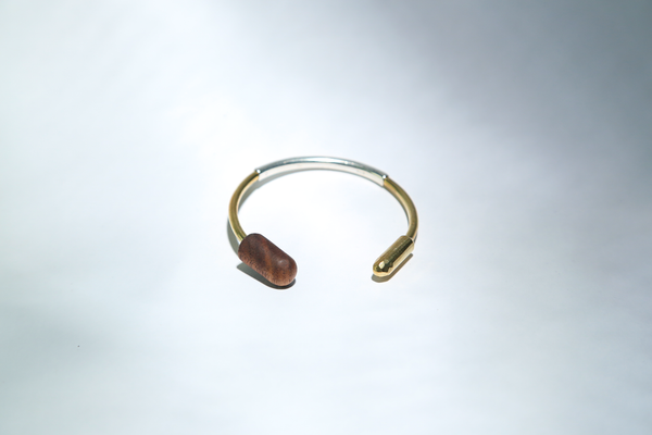 Walnut Open Cuff