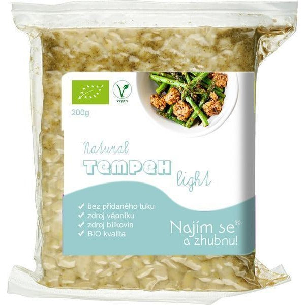 Tempeh LIGHT Natural BIO 200 g - E-shop Najím se a zhubnu
