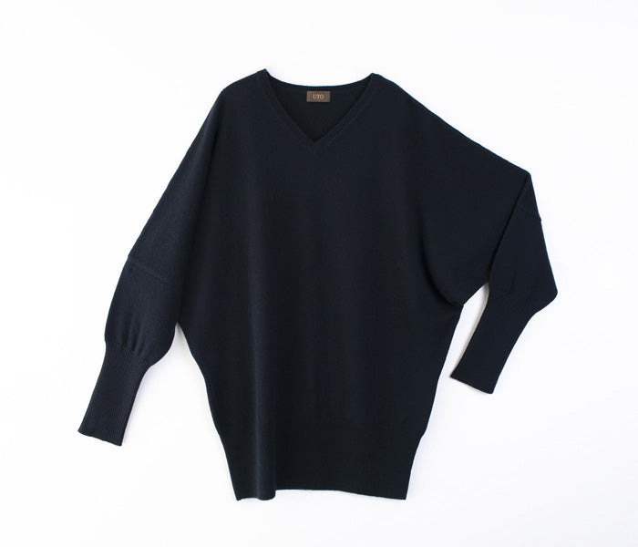 Cashmere 100% Dolman sleeve sweater