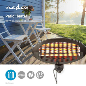 Nedis Wall Mounted Patio Heater