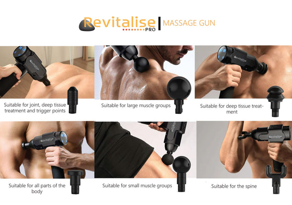 Revitalise Pro Massage and Recovery Gun