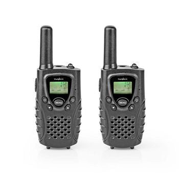 Nedis 5km Walkie Talkies one pair of two