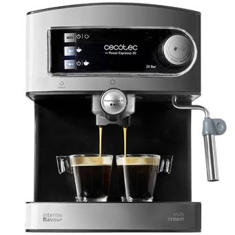 Cecotec barista style coffee machine