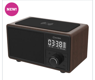 AV:Link Fusion wireless charger clock radio