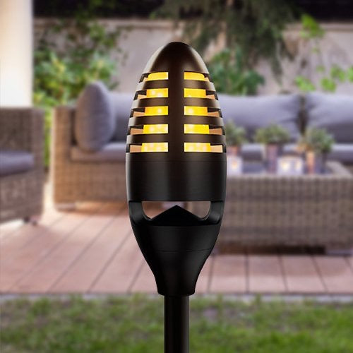 Aquarius flame effect LED outside light/Bluetooth speaker