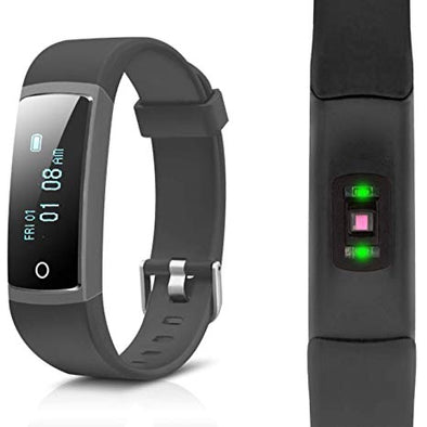 Aquarius AQ126 fitness tracker with blood pressure monitor