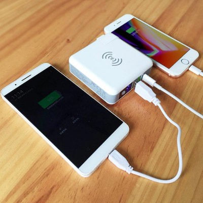 K-Six portable world charger usb and usb-c and portable power pack
