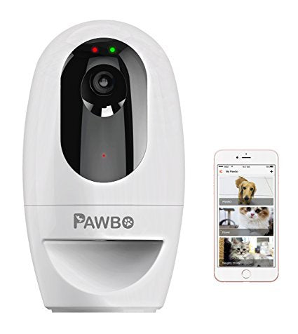 Pawbo Life Wi-Fi Pet Camera and Treat Dispenser