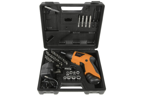 3.6v Cordless Screwdriver Set with accessories