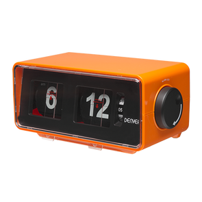 Denver 80's Style Flip Digit Clock Radio