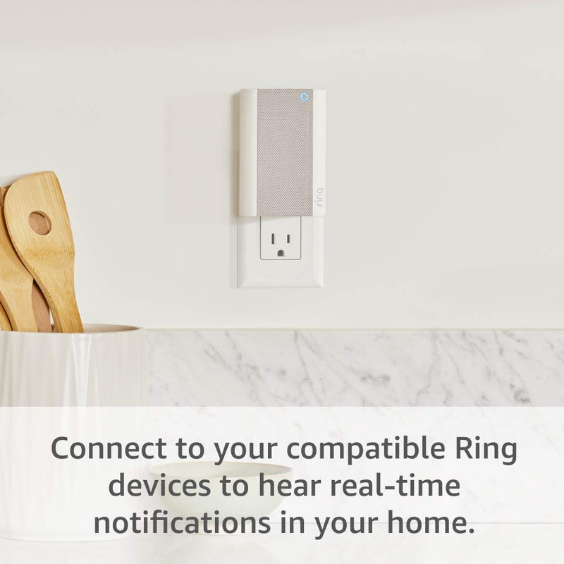 All-new Ring Chime Pro, Indoor Chime and Wi-Fi Extender for Ring Network Doorbell and Security Cameras
